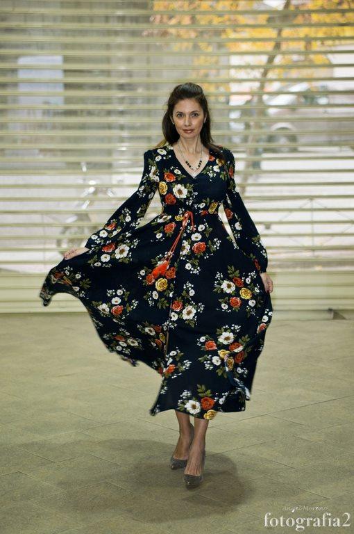 vestidos estampados de invierno